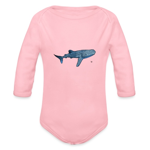 Walhai - Baby Bio-Langarm-Body
