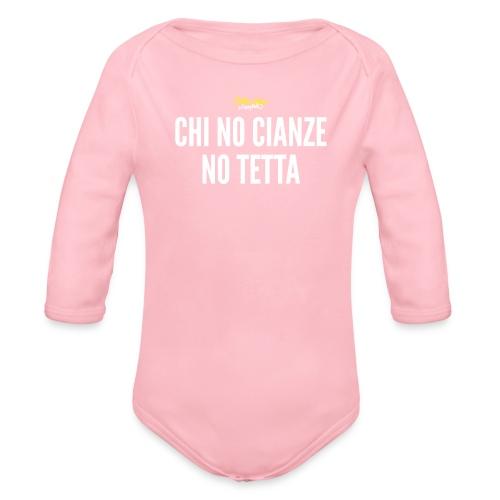 chi no cianze - Body ecologico per neonato a manica lunga