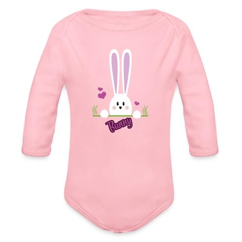 bunny girl - Baby Bio-Langarm-Body