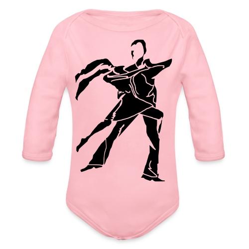 dancesilhouette - Organic Longsleeve Baby Bodysuit