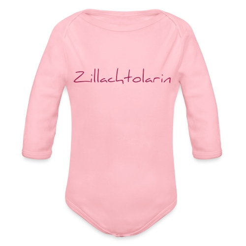 Zillachtolarin - Baby Bio-Langarm-Body