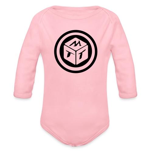 mb logo klein - Baby Bio-Langarm-Body
