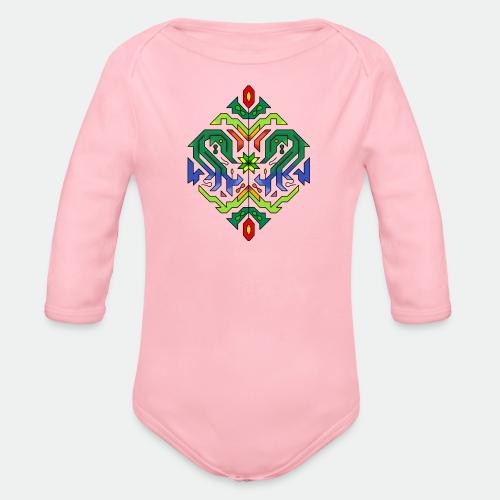 l étoile Mandala - Organic Longsleeve Baby Bodysuit