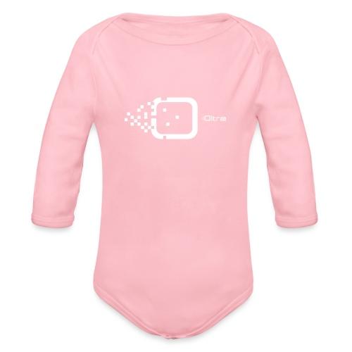 Logo Associazione Oltre - Body ecologico per neonato a manica lunga
