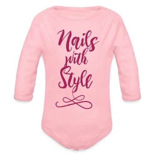 Nails with Style - Baby bio-rompertje met lange mouwen
