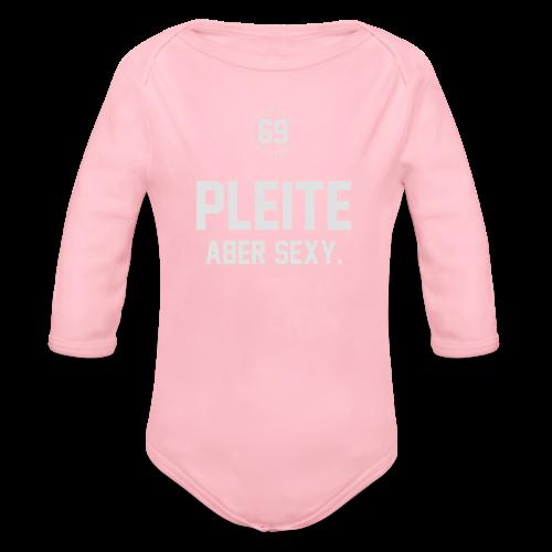 PLEITE ABER SEXY – JNSBCHNER - Baby Bio-Langarm-Body