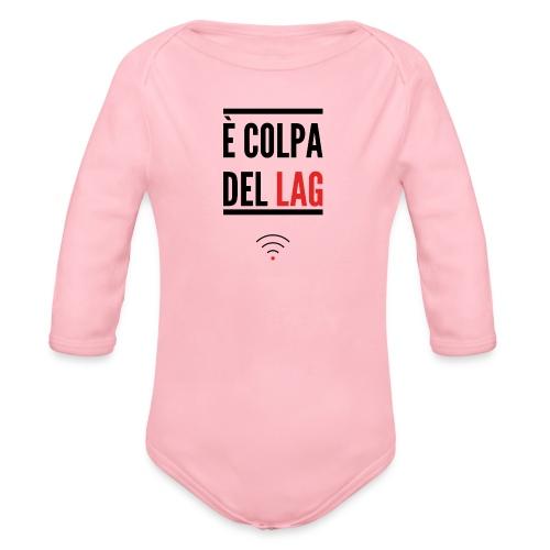 Tazza - Body ecologico per neonato a manica lunga