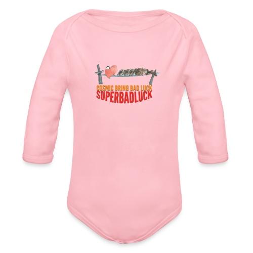 BRINGBADLUCK - Body ecologico per neonato a manica lunga
