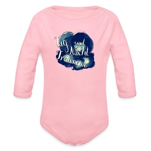 Tag- und Nachtträumerin - Baby Bio-Langarm-Body