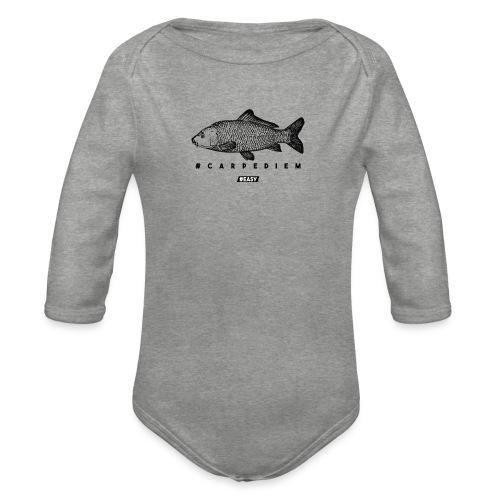 #EASY Carpe Diem T-Shirt - Body ecologico per neonato a manica lunga