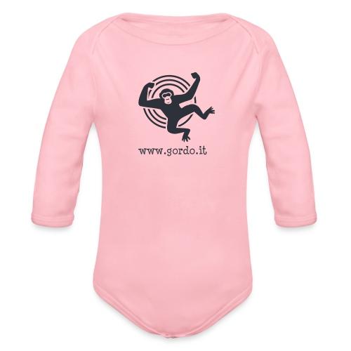 Psychedelic Ape - Gordo collection promotional - Body ecologico per neonato a manica lunga