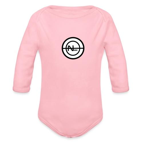 Nash png - Langærmet babybody, økologisk bomuld