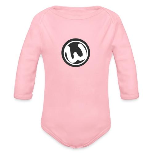 Wooshy Logo - Organic Longsleeve Baby Bodysuit