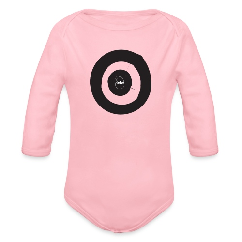 Ninho Target - Body ecologico per neonato a manica lunga