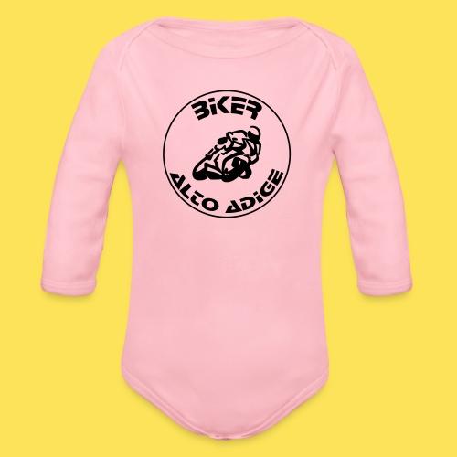 BikerAltoAdige Circle - Body ecologico per neonato a manica lunga