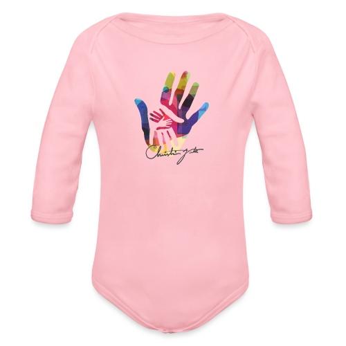 logo_signatur - Økologisk langermet baby-body