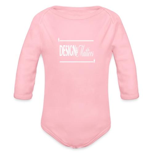 Design&Matters - Organic Longsleeve Baby Bodysuit