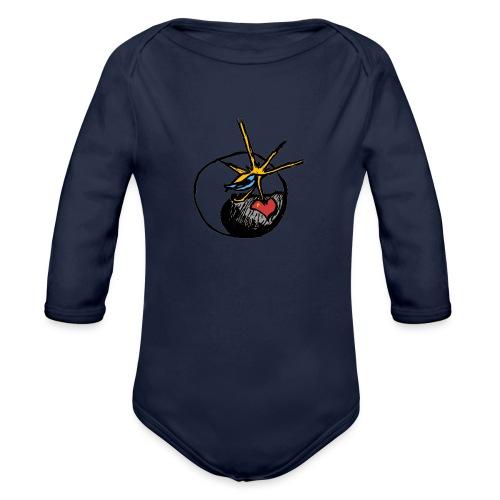 Mindfackt logo - Vauvan pitkähihainen luomu-body