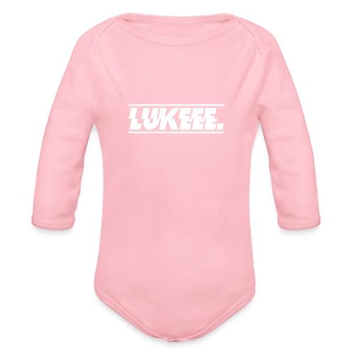 Lukeee - Baby Bio-Langarm-Body
