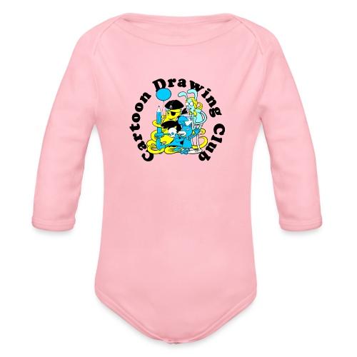 Cartoon Drawing Club - Organic Longsleeve Baby Bodysuit