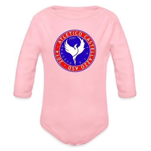 Logo Ufficiale Atletico Castellazzo - Body ecologico per neonato a manica lunga