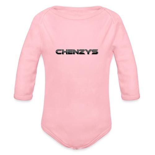 Chenzys print - Langærmet babybody, økologisk bomuld