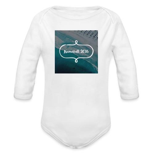 Knowitall 2016 - Organic Longsleeve Baby Bodysuit
