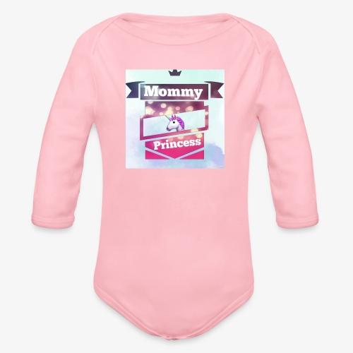 Mommy & Princess - Baby Bio-Langarm-Body