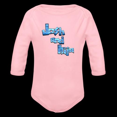 Josh and Ilija - Organic Longsleeve Baby Bodysuit