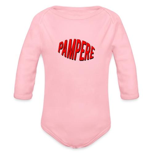 pampere - Ekologiczne body niemowlęce z długim rękawem