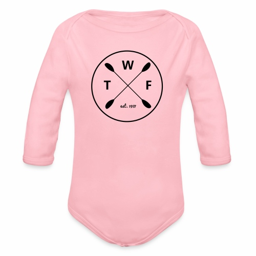 TWF Schwarz 3 - Baby Bio-Langarm-Body
