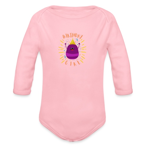 Geburtstagskind Mädchen - Baby Bio-Langarm-Body