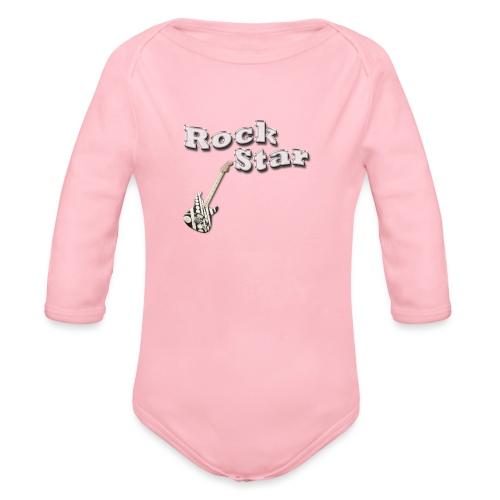 Rock star - Baby Bio-Langarm-Body