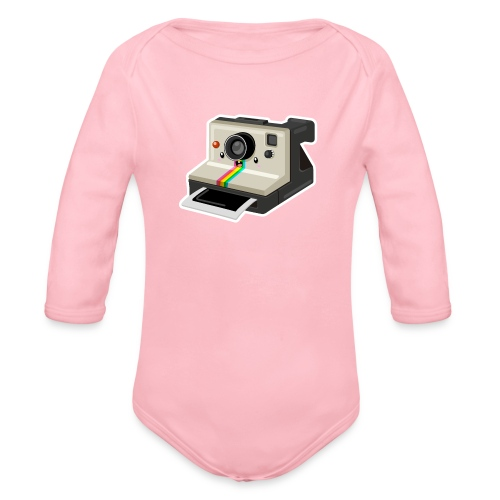 Polaroid 1000 kawaii - Body Bébé bio manches longues