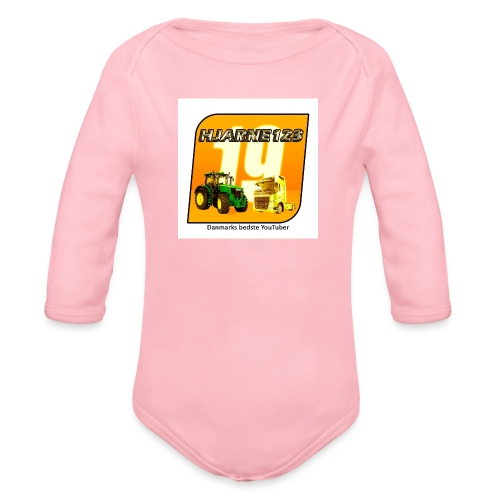 hjarne 123 danmarks bedeste youtuber - Langærmet babybody, økologisk bomuld