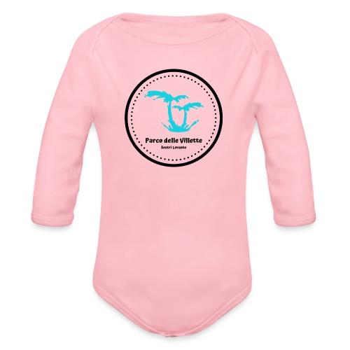LOGO PARCO DELLE VILLETTE - Body ecologico per neonato a manica lunga