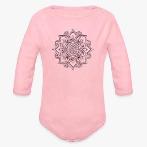 Mandala - Organic Longsleeve Baby Bodysuit