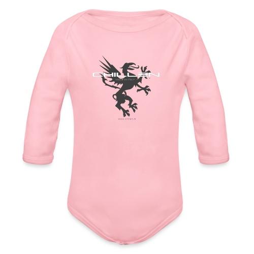 Chillen-1-dark - Organic Longsleeve Baby Bodysuit