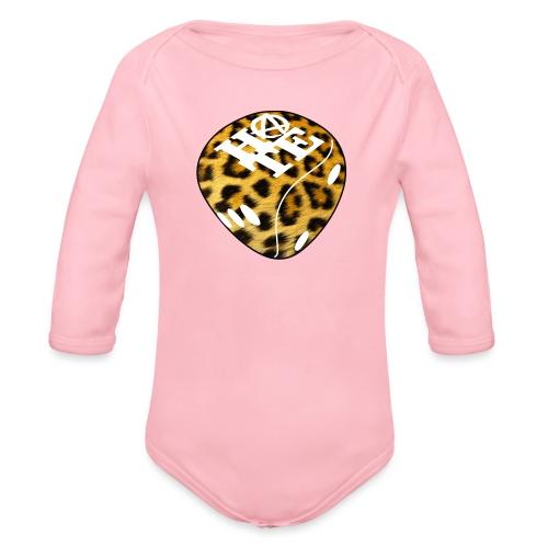 Leopard - Organic Longsleeve Baby Bodysuit