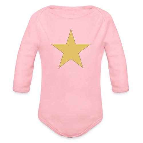 ardrossan st.pauli star - Organic Longsleeve Baby Bodysuit