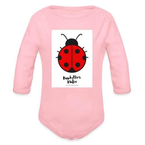 Ladybird - Kuscheltier Mafia - Baby Bio-Langarm-Body