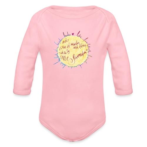 Sonnenschein - Baby Bio-Langarm-Body