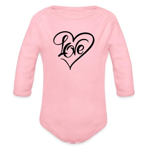 Love - Økologisk langermet baby-body