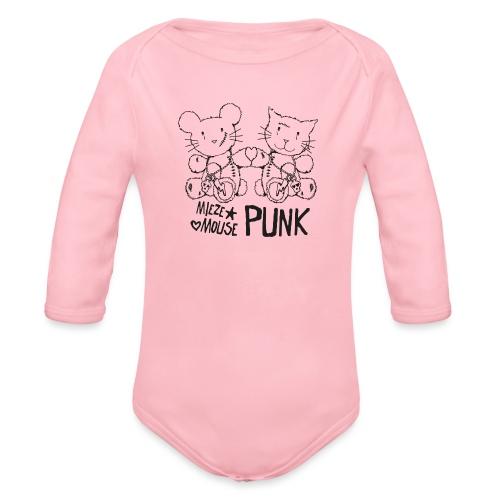 MIEZEMOUSE PUNK - Baby Bio-Langarm-Body