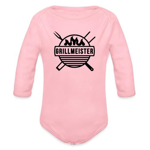 Grillmeister - Baby Bio-Langarm-Body