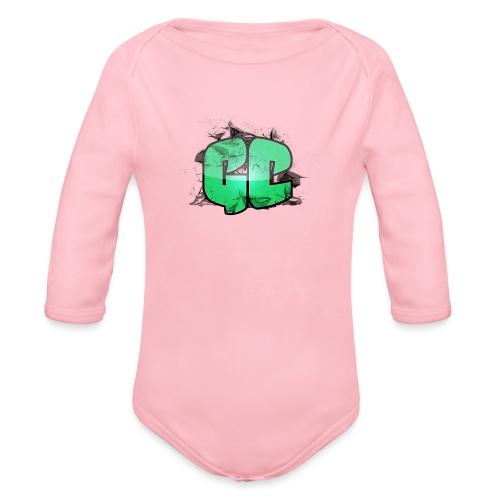 Hættetrøje - GC Logo - Langærmet babybody, økologisk bomuld