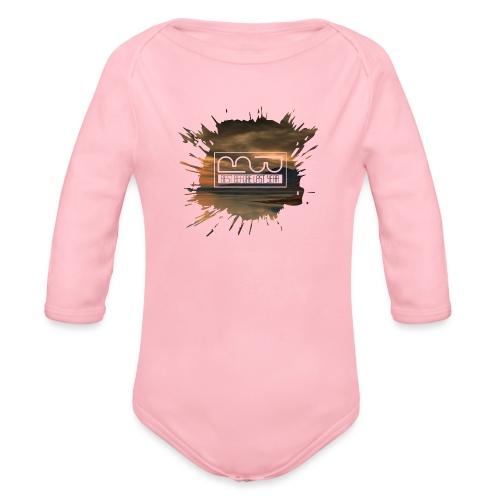 Men's shirt Splatter - Organic Longsleeve Baby Bodysuit