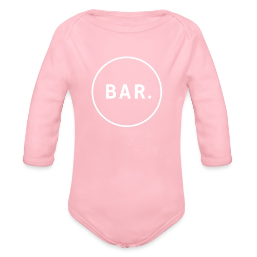 BAR Logo 1 farbig - Baby Bio-Langarm-Body