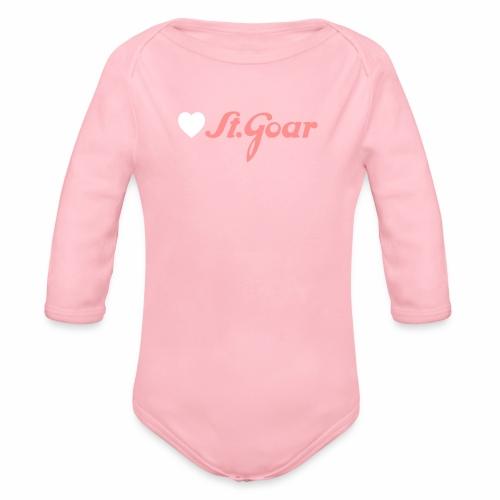 Herz für St. Goar - Baby Bio-Langarm-Body