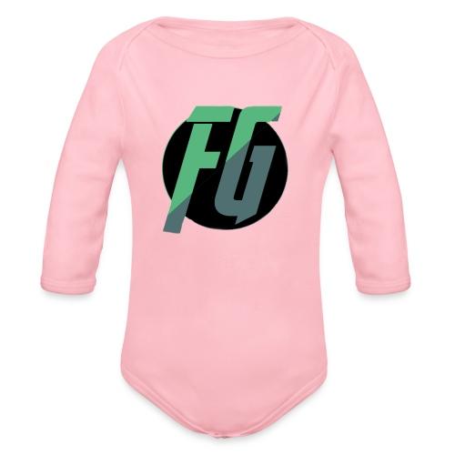 FGminy - Baby bio-rompertje met lange mouwen